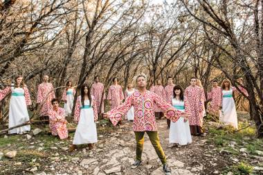 Somehow, the Polyphonic Spree is going to fit inside the Sayers Club at SLS on November 18.