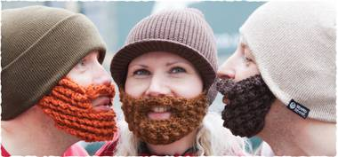 Beard ornaments: They're a real thing.