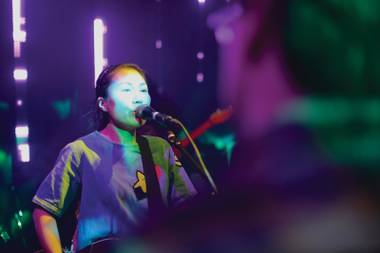 Welcome back: Deerhoof played the Lab back in '97.