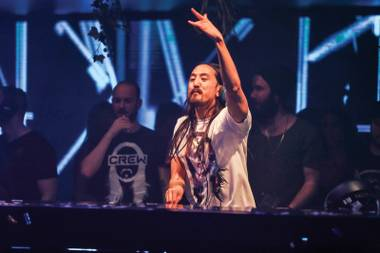 The DJ talks his Steve Aoki Charitable Fund, moving into his Henderson home and more.