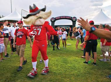 Under fire: Some UNLV students are calling for Hey Reb's removal.