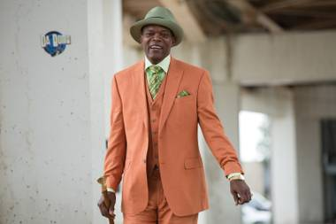 Rhyme time: Samuel L. Jackson as the loquacious Dolmedes in Chi-Raq.