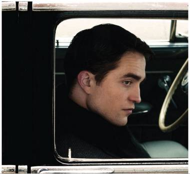 Pattinson gets behind the lens in Life.
