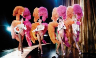 """The showgirls of Jubilee are an essential part of Vegas entertainment history. ... But I believe the showgirl is still very much alive and well in this town."""