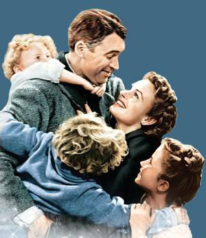 Various local theaters will screen holiday classic <em>It's a Wonderful Life</em> on Christmas Eve.