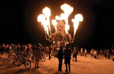 People buying Burning Man tickets later this month will also pay live entertainment tax for the first time ...