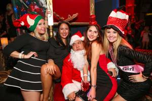 Bad Santa Party at Tao