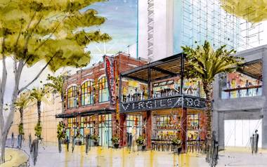A rendering of Virgil's at the Linq.