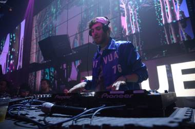 Baauer bounces between dance music genres.