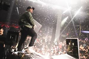 DJ Mustard & Travis Scott at Light, January 13