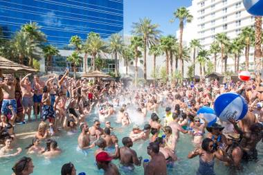The Hard Rock pool party reopens in March with a grand opening in April.