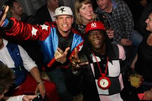 Throwback Thursdays with Vanilla Ice at LAX, January 21