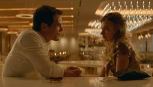 Michael Shannon and Imogen Poots in <em>Frank and Lola</em>.