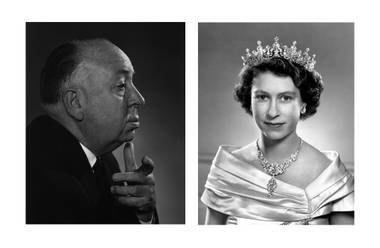 Hitchcock and Elizabeth, two works featured in Yousuf Karsh: Icons of the 20th Century, opening March 18 at Bellagio Gallery of Fine Art.
