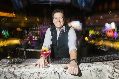 Andy Soulia has been slinging drinks at Hard Rock Hotel's iconic Center Bar since its opening.