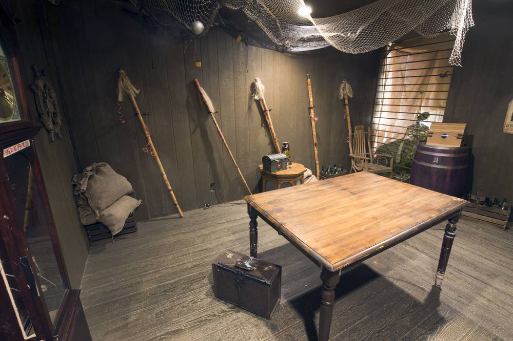 Locked up with the creepy and haunted at live game escape for Escape room gadgets