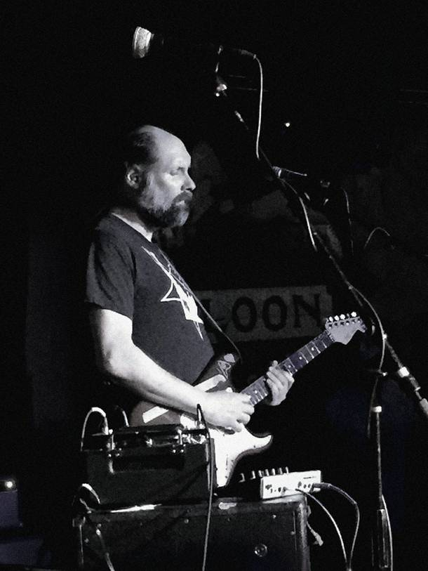 Built to Spill's Doug Martsch, Tuesday night at the Bunkhouse.