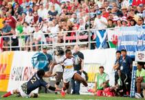 Meet Carlin Isles, the fastest man in rugby.
