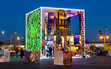 The Life Cube returns to Downtown for an April 2 burn.