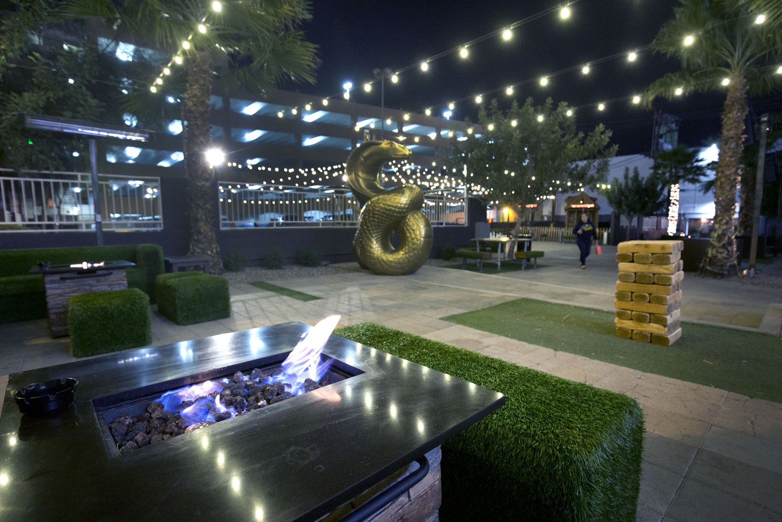 the gold spike transformed from casino dive to downtown party spot