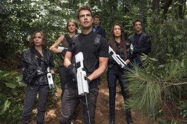 Welcome to the jungle: The heroes of Allegiant face the unknown.