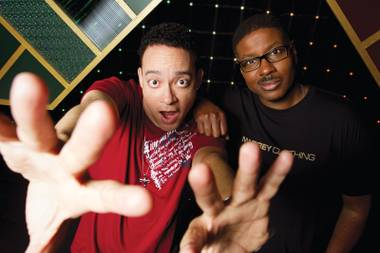 Kid 'n Play headline LAX tonight for a pajama-party edition of Throwback Thursdays.