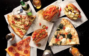 Partying at HRH? Get some tasty post-club grub at Pizza Forte.