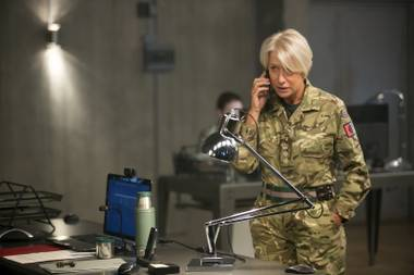Helen Mirren is a British intelligence officer in Eye in the Sky.