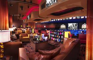 Red Rock Resort's bowling center.