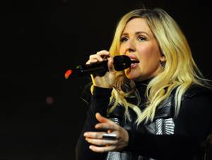 Ellie Goulding at Mandalay Bay Events Center on April 9, 2016.