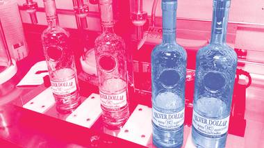 Nevada H&C Distilling Co.'s Silver Dollar Vodka could be released this month.
