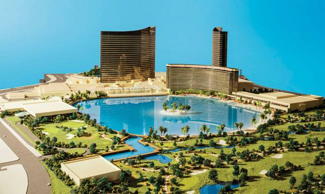 An Early Rendering Of Wynn Paradise Park