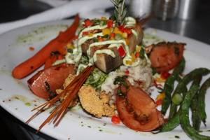Hash House A Go Go's grilled swordfish special.