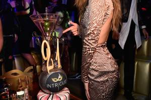 Gigi Hadid at Intrigue, April 30