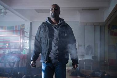 Mike Colter plays the titular crime-fighter in Luke Cage, which debuts on Netflix September 30.
