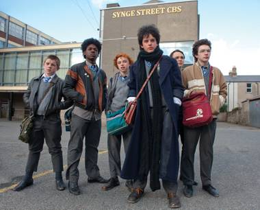 Youth gone wild: The aspiring rockers of Sing Street.