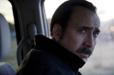 Nicolas Cage is predictably unpredictable in The Trust.