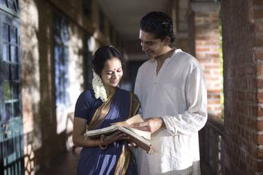 Matthew Brown's middle-of-the-road flick about Indian mathematician Srinivasa Ramanujan could have been about anybody.