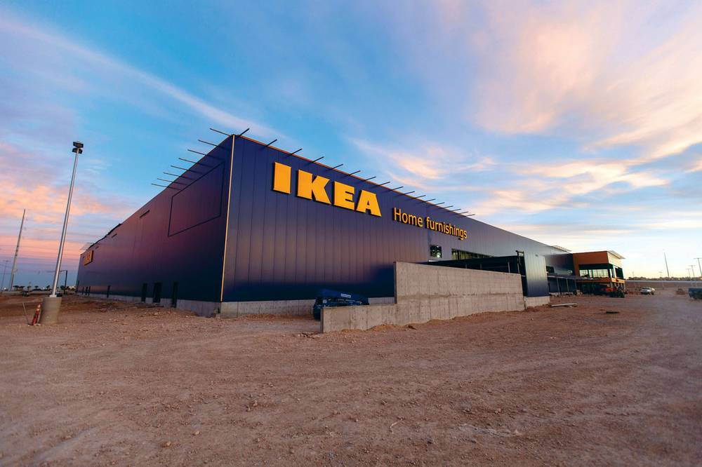 how to navigate the frenzy of ikea s opening like a boss las vegas weekly. Black Bedroom Furniture Sets. Home Design Ideas
