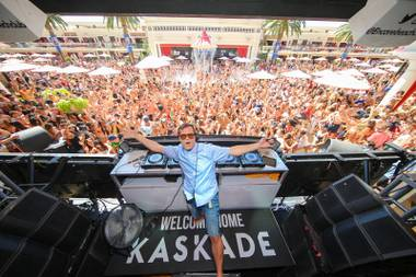 Catch Kaskade at Encore Beach Club May 29.