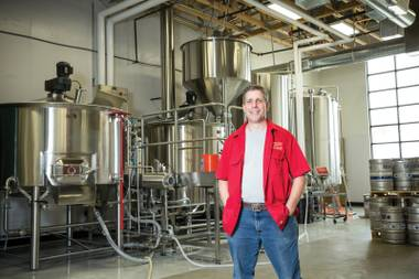 Brewer Richard Lovelady at his Water Street operation.