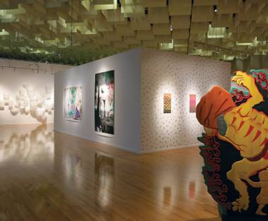 Five brings a variety of artistic styles together at the Barrick Museum.