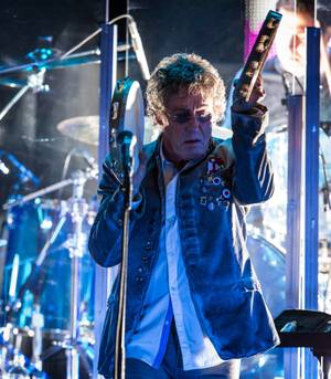 Roger Daltrey and The Who hit town Sunday night.