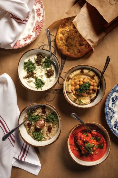 Everybody loves sharing small plates, but these mezze dishes take things to new levels.