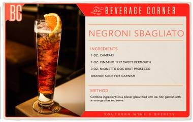 Negroni Week kicks off June 6th, so this year we're serving up a lesser-known but equally delicious variation of the classic.