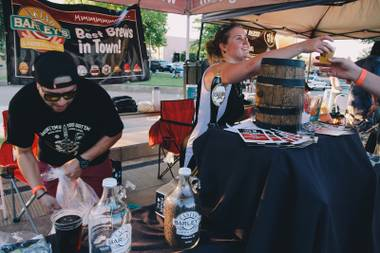 Local breweries offered their top selections, along with specialty one-off and collaboration brews, at the Nevada Craft Brewers Association event.