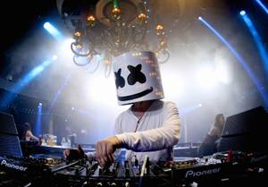 Marshmello teams up with Skrille for a Surrender set.