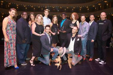 Young local performers will represent Nevada at the National High School Musical Theatre Awards on New York City's Great White Way.