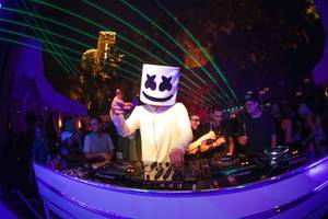 Marshmello at Intrigue, June 16