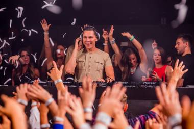 From EDC to Fremont Street, the Dutch DJ Tiësto has truly taken over Las Vegas.